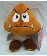 "Jakks Nintendo Super Mario GOOMBA 6"" Plush STUFFED ANIMAL Toy NEW w/ TAG - $19.80"