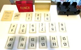 Vintage FLINCH Card Game 1951 Parker Brothers Inc. & Nu Dell Plastics Ca... - $12.59