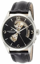 Hamilton Men's H32705731 Jazzmaster Open Heart Black Dial Automatic 42mm... - $606.62