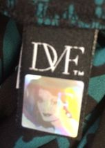 DVF DIANE VON FURSTENBERG Silk Blouse Authentic Berriti Crossover Women's Size 2 image 6