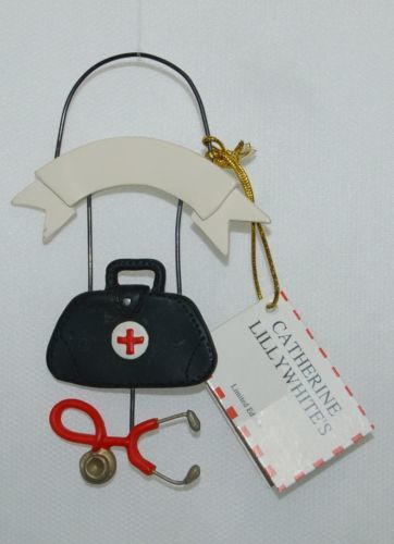 Catherine Lillywhites WW2838 Limited Edition Doctor Bag Personalize Ornament