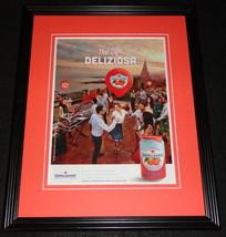 2015 San Pellegrino Fruit Beverages 11x14 Framed ORIGINAL Advertisement - $32.36