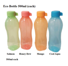 Tupperware ~ Eco Bottle 500ml (Set of 4) + FREE Postage - $33.99