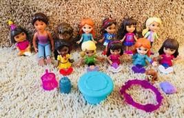 Dora and Friends Doggie Day Adventure Figures / Dolls & More, Dora Cake ... - $9.89