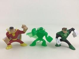 DC Comics 3pc Lot Toy Figures Superhero PVC Green Lantern Shazam Mattel - $9.75