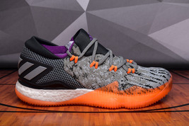 Adidas Crazylight Boost Low 2016 BB8384 Orange Gray Men's Basketball Sho... - $64.95