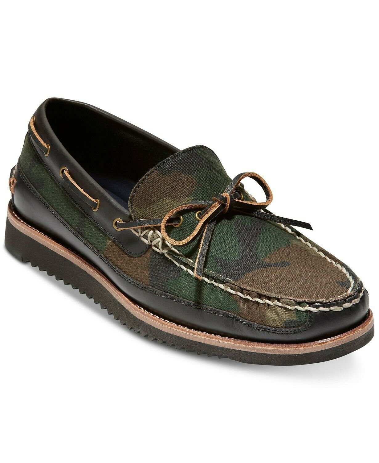 Primary image for Men's Cole Haan Pinch Rugged Camp Moccasins Boat Shoes Camo Size US 9M