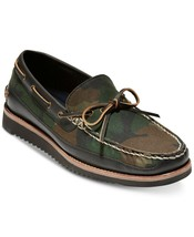 Men's Cole Haan Pinch Rugged Camp Moccasins Boat Shoes Camo Size US 9M - $80.00