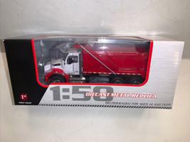 Kenworth T880 Dump Truck Red/White First Gear 1:50 scale  - $202.21
