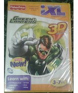 Green Lantern iXL Learning System 3D glasses game cartridge  - $10.00