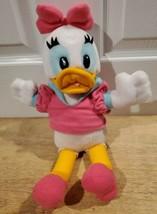"Walt Disney World DAISY DUCK 15"" Plush - Pink Dress & Bow Stuffed Animal - $14.49"