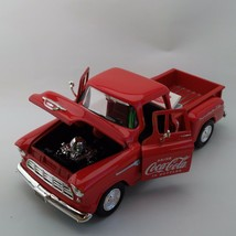 Coca-Cola '55 Chevy Stepside Pickup with Cooler (1:24 Scale) - BRAND NEW - $52.72