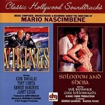 Vikings,The & Solomon And Sheba - Soundtrack/Score CD ( Like New ) - $34.80
