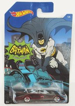 Hot Wheels 1966 Batmobile Walmart Classic TV Series 66 Batman Car 2015 MOSC - $4.85
