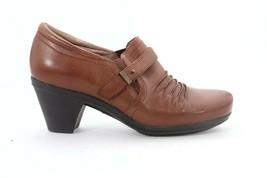 Abeo Rachel Pumps Slip On Brown Women's Size US 7 Neutral Footbed - $73.95