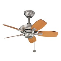 Kichler 300103NI Canfield Ceiling Fans Brushed Nickel - $195.00