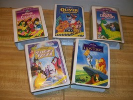 FAST FOOD: McDonald's Disney Character Boxes Lot of 5 1996 - $8.99
