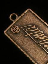 Vintage 70s NAMTA Brass Keychain Tag  image 4
