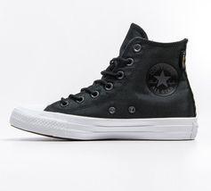 CONVERSE SAMPLE Chuck Taylor ALL-STAR HI Cordura Black White Shoe [157516C] sz 9 image 3