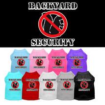 Mirage Backyard Security Screen Print Dog Shirts - $20.00