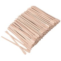 400 Packs Wax Spatulas Whaline Small Wooden Waxing Applicator Sticks Face & Eyeb image 7