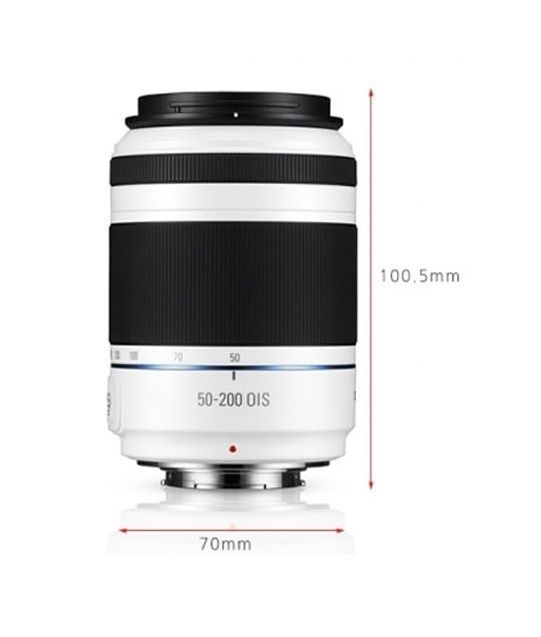 Samsung NX 50-200mm F4-5.6 ED OIS III For NX300M NX500 NX1 -White (White Box)
