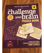 The Challenge Your Brain Puzzle Book paperback Ships N 24h - $11.86