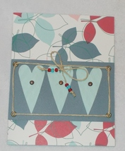 Greeting Card Any Occasion Blue Hearts - $4.99