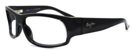 Maui Jim MJ-222-11 Longboard Sunglasses Gloss Black Wraparound FRAME ONLY - $48.60