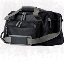 Large Black Cooler Bag with Zip-Out Liner Zip Main Compartment Lunch Box - $49.31 CAD