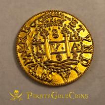 "PERU 1708 8 ESCUDOS ""ROYAL 1715 FLEET"" PURE GOLD 22KT DOUBLOON TREASURE ... - $1,995.00"