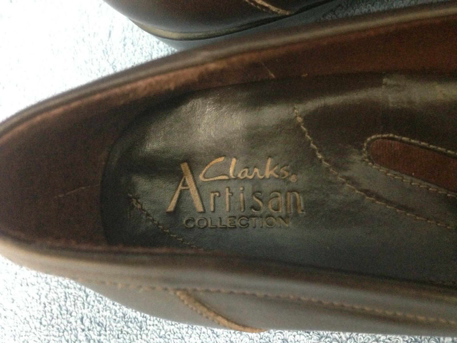Clarks Artisan Collection Shoes -Brown Leather Women's Size 8.5 M