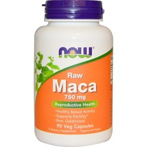 Now Foods, Maca, Raw, 750 mg, 90 Veggie Caps Reproductive Health - $29.00