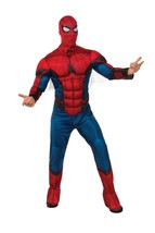 Rubies Spiderman Homecoming DLX Muscle Chest Adult Mens Halloween Costum... - $47.49