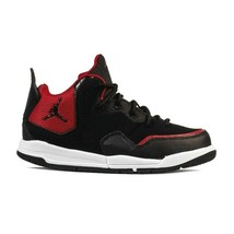 Jordan Courtside 23 PS Preschool Black Gym Red Kids Shoes AQ7734 006 - $67.95