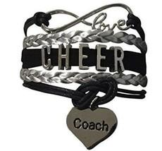 Cheer Coach Infinity Bracelet - $9.99