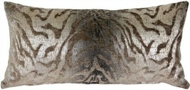 Ruffino Mocha Chenille Throw Pillow 12x24 (DC1-0006-01-94) - $75.00