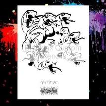 "NEW! 15""x12"" Stencil Medusa 01  Airbrush Stencil,Template - $14.01"