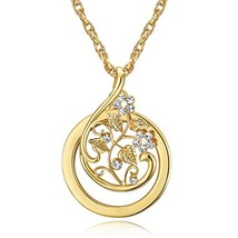 Hanging Necklace 2X Magnifer Magnifying Glass Gold Chain for Reading Jew... - $11.63