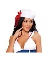 Women's Red White Sailor Halloween Costume Hat Cosplay - $10.00
