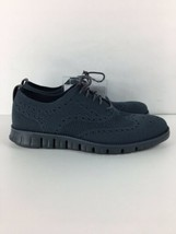 Cole Haan Zerogrand Oxfords Stitchlite Wingtip Lace Up Ombre Blue Sz 8.5... - $148.49