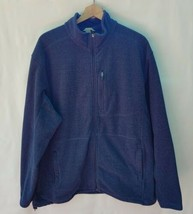 Duluth Trading Full Zip Blue Jacket Men's Size XL Tall - $39.60