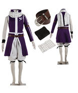 Fairy Tail Natsu Dragneel Anime Cosplay Costume Partywear Full Set - $69.97