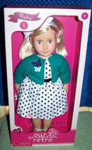 """Our Generation Retro RUBY 18"""" Doll New - $39.11"""