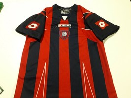 old soccer Jersey camiseta San Lorenzo signed player  Romero, Rivero,Ar... - $74.25