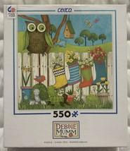 "Ceaco Debbie Mumm ""Owl and Friends"" 550 Piece Jigsaw Puzzle Turtle Owls ... - $11.86"