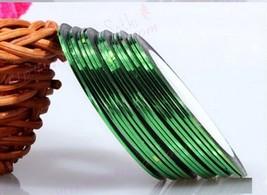 Aaa: 3PCS Green Rolls Striping Tape Line Nail Tips Sticker Diy w/Free Gift - $2.48