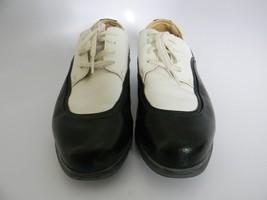 Nike Air Comfort Verdana Womens Black & White Golf Shoes Size 7.5 - $34.99