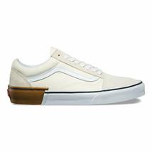 Vans Old Skool (Gum Block) Classic White Cream Mens Skate Shoes - $59.95