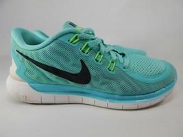 Nike Free 5.0 Misura US 6.5 M (B) Eu 37.5 Scarpe da Corsa Donna Aqua 724383-400